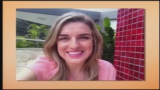 Nova apresentadora do Jornal do Almoço de Chapecó estreia na segunda-feira (24)