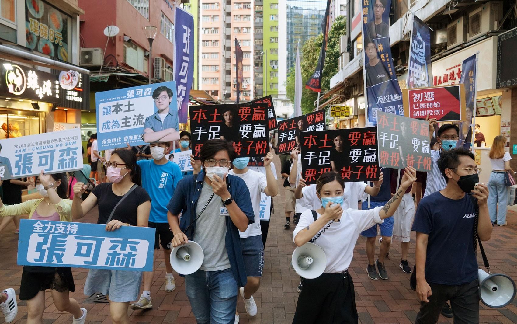 EUA sancionam autoridades de Hong Kong; China reage e diz que medida é 'bárbara e rude'