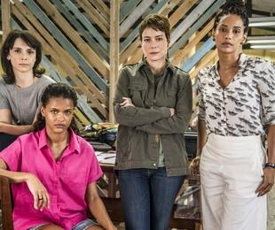 Protagonistas de 'Aruanas' | Fábio Rocha/TV Globo