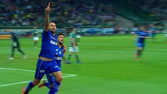 """""""Sem pressa"""" por renovação, Barcos avalia que Cruzeiro colherá frutos com opções para a camisa 9"""
