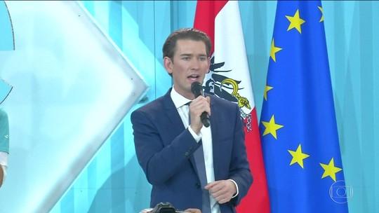 Sebastian Kurz convida partido de extrema-direita para negociações de governo na Áustria