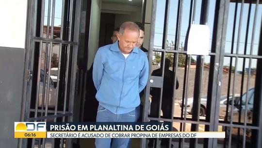 Secretário de Transportes é preso por suspeita de cobrança de propina em Goiás