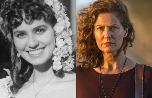 Patricia Pillar interpretou Ana do Véu. A atriz voltará ao ar na supersérie 'Onde nascem os fortes'  (Foto: Acervo Globo / Estevam Avellar)
