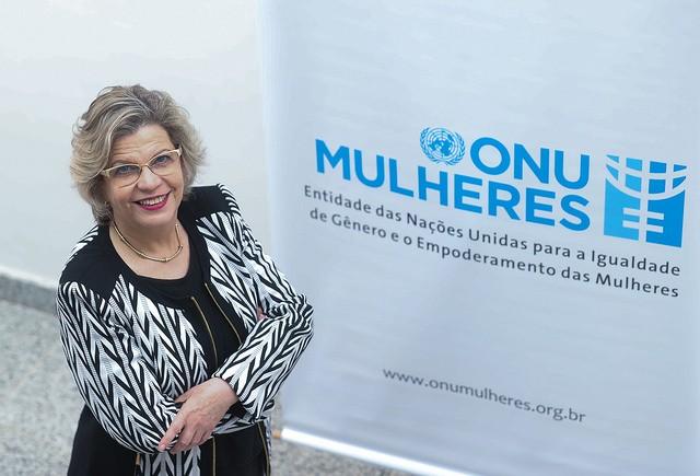 Nadine Gasman, representante da ONU Mulheres Brasil (Foto: ONU Mulheres/Bruno Spada)