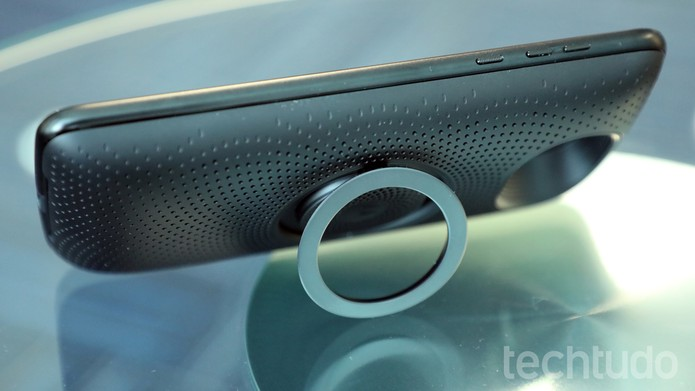 Moto Snap Stereo Speaker (Foto: Bruno De Blasi/TechTudo)