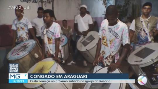 Ternos participam da Festa do Congado em Araguari