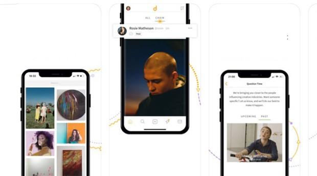 Telas do aplicativo Daisie (Foto: Divulgação)