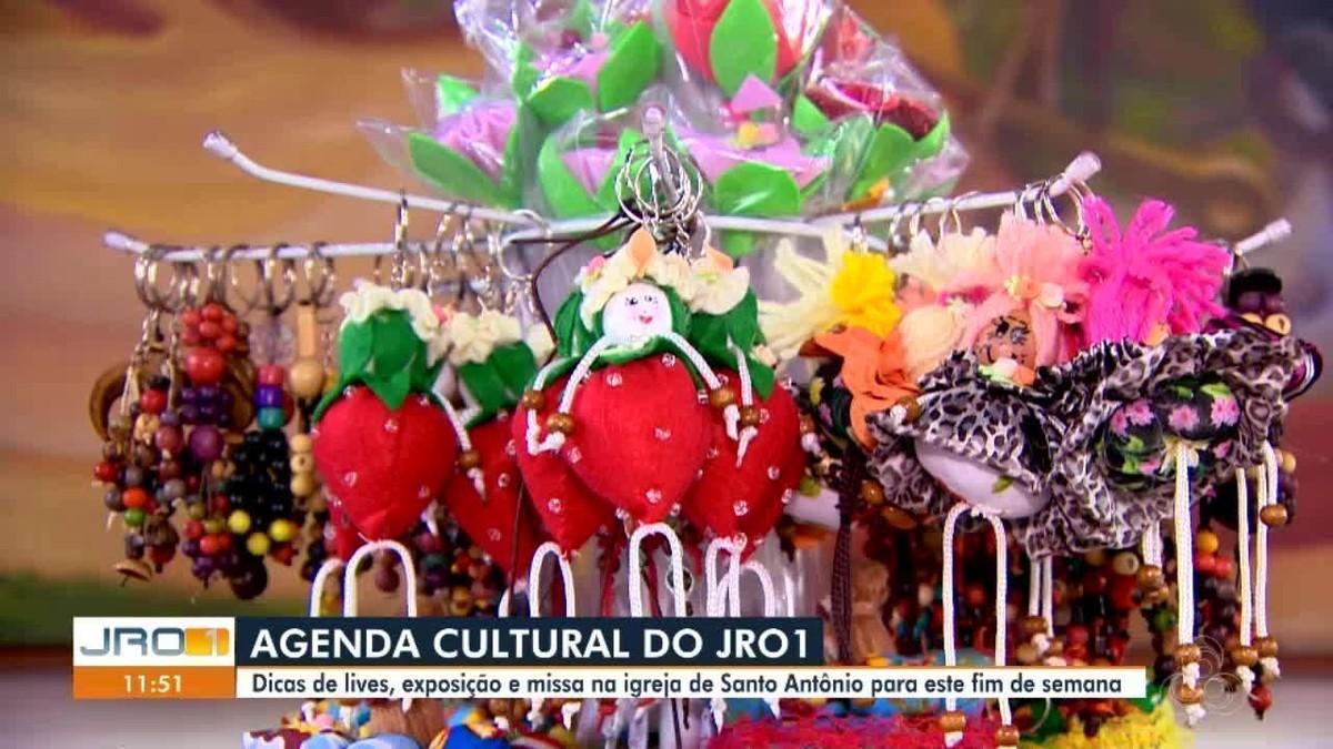 Exposição de artesanato, lives juninas e mais; confira agenda cultural em Porto Velho