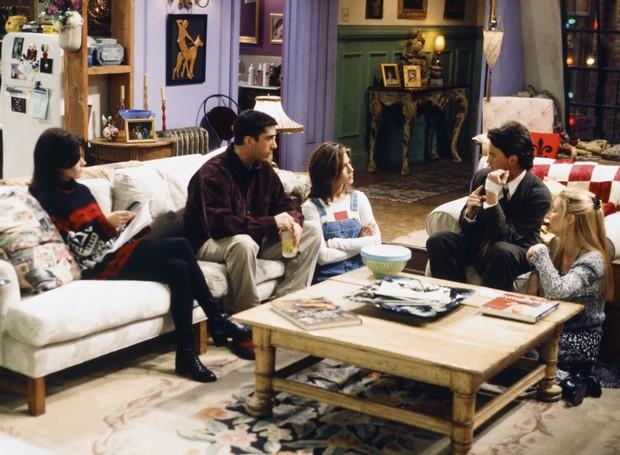 Inspire-se no apartamento de Friends (Foto: Reprodução/ Glamour)