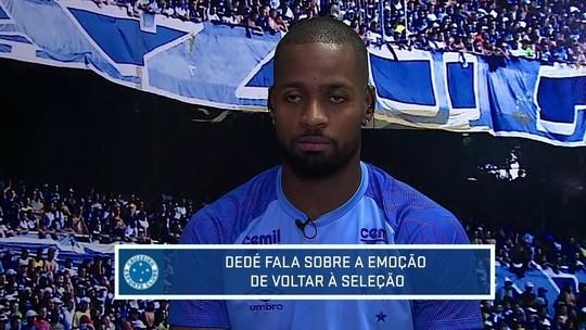 Com apoio da família, Dedé volta à Seleção, diz que idade não interfere e cita Thiago Silva como referência