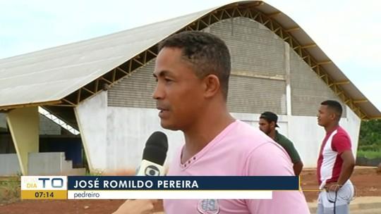 Esportistas sofrem com obra em ginásio que nunca foi concluída no interior do Tocantins