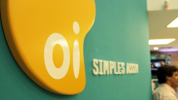 Logo da operadora de telefonia Oi no Rio de Janeiro (Foto: Reprodução/Facebook)