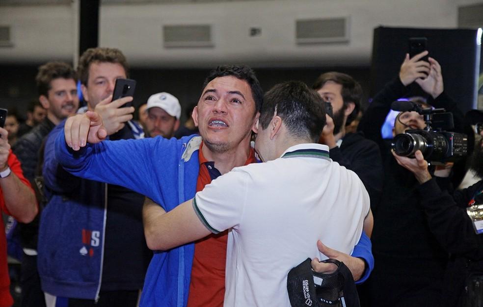 "Madson Moura ""Urea"" se emociona com conquista — Foto: Luis Bertazini"