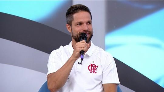 Diego diz que não considera Fagner um jogador duro, maldoso