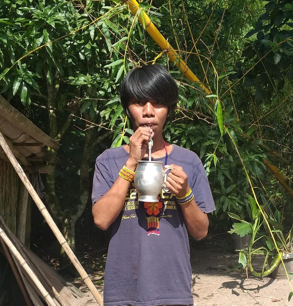 Para o indígena, é importante que o assunto seja mais abordado dentro das aldeias — Foto: Arquivo pessoal