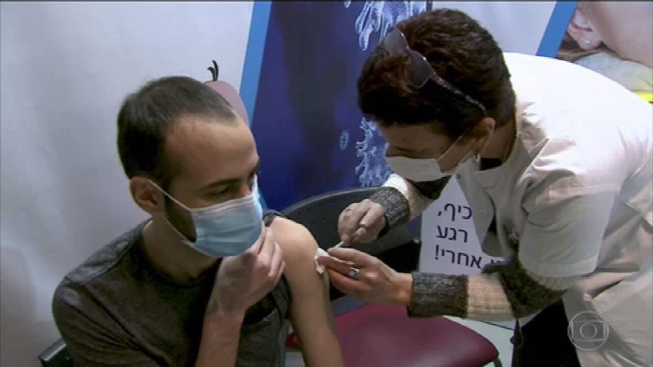 Estudo em larga em israel mostra eficácia da vacina da Pfizer entre os jovens