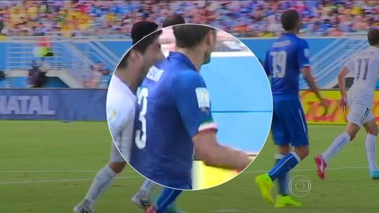 Amistoso Itália x Uruguai pode marcar reencontro de Chiellini e Luis Suárez