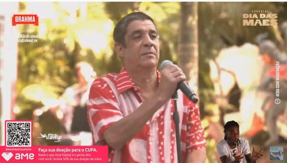 Zeca Pagodinho se rende aos pedidos do público e faz live: 'Vocês tinham razão, foi legal' | Música