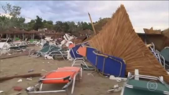 Tempestades provocaram mortes na Europa