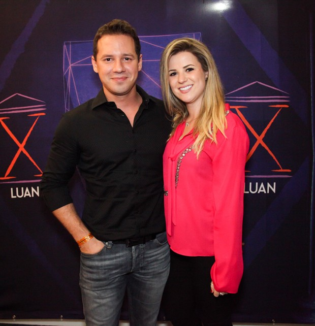 Dony De Nuccio e namorada, Larissa Laibida (Foto: Marcos Ribas/Brazil News)
