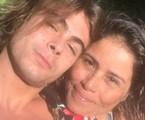 Valeria Alencar com o filho, Rafael Vitti | Reprodução