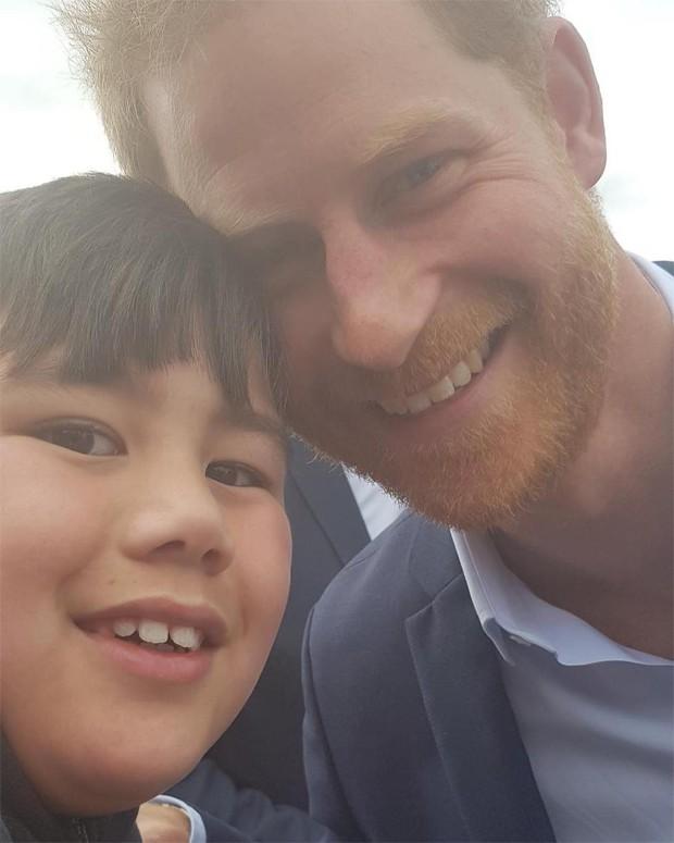 Otia Nante e príncipe Harry (Foto: Reprodução/Instagram)