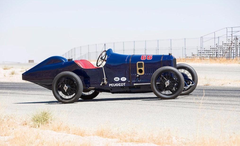 Peugeot L45, o 'pai de todos os carros de corrida'