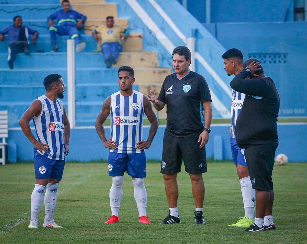 Brigatti está de volta ao Paysandu — Foto:  Jorge Luiz/Paysandu