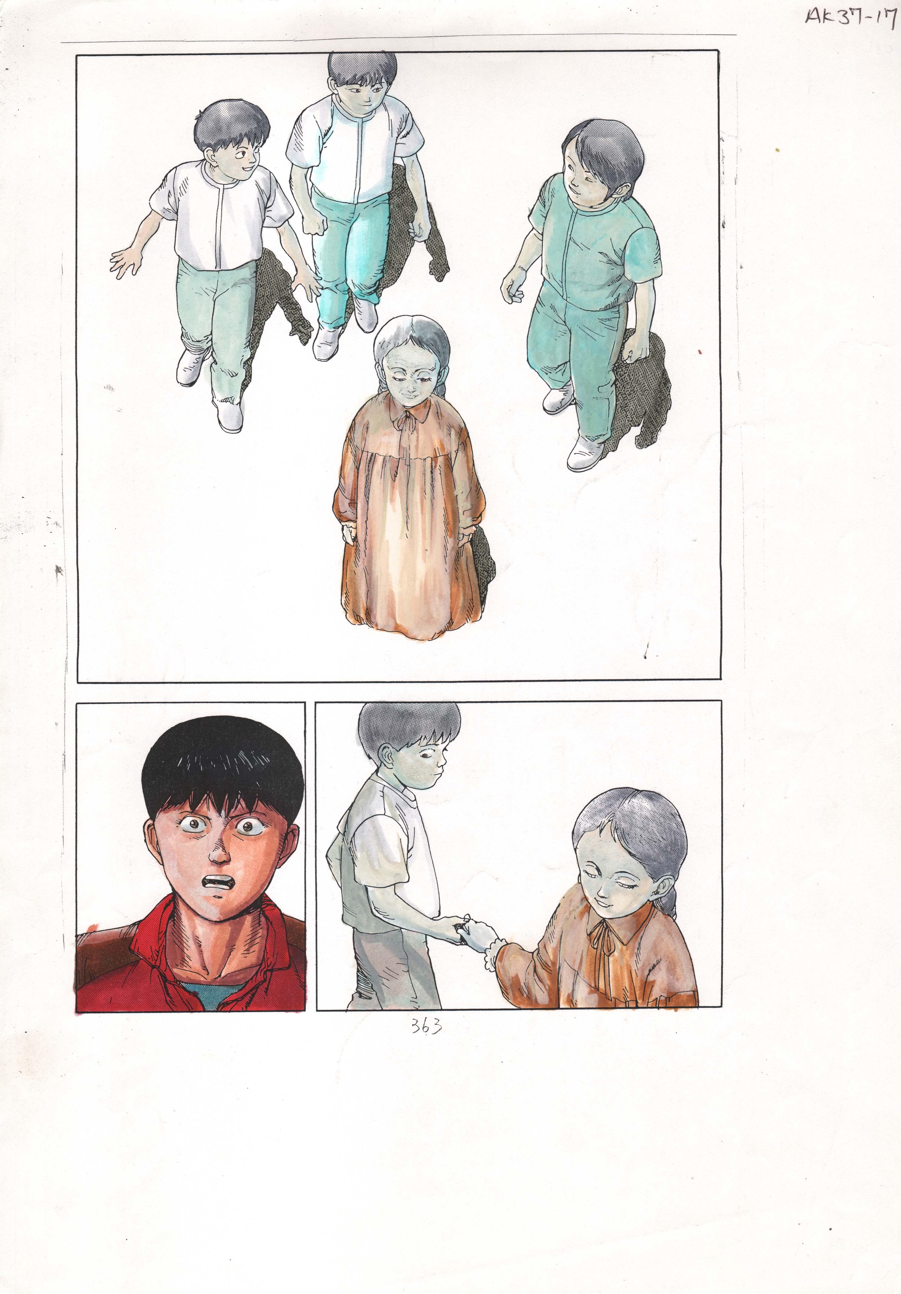 Guia de cores de Akira, de Steve Oliff sobre o desenho original de Katsuhiro Otomo (Foto: Divulgação)