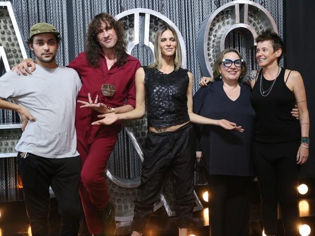 Fernanda Lima em lançamento de Amor e Sexo (Foto: AgNews)