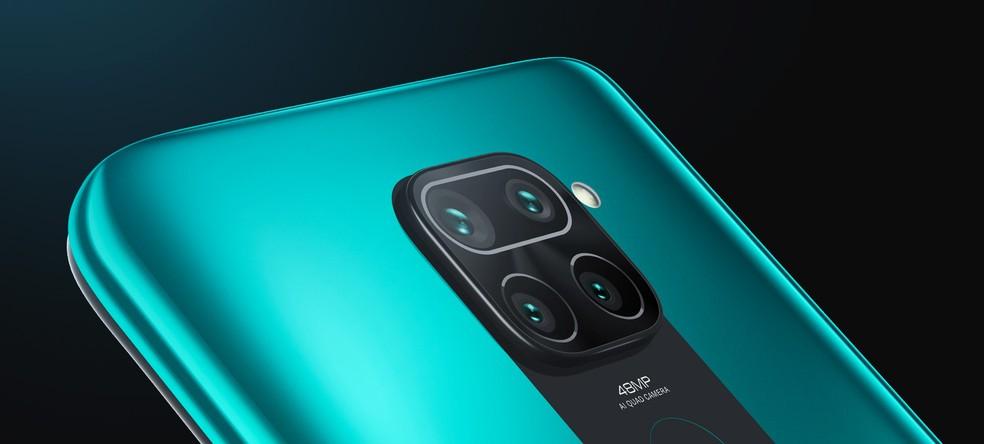 Redmi Note 9 conta com capacidade da bateria de 5.020 mAh — Foto: Divulgação/Xiaomi