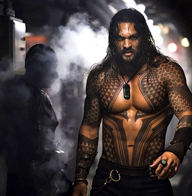 Jason Momoa em cena de Aquaman (Foto: Divulgação/WarnerBros)