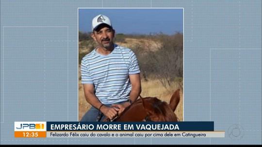 Empresário que morreu após cair de cavalo em vaquejada é enterrado no Sertão da Paraíba