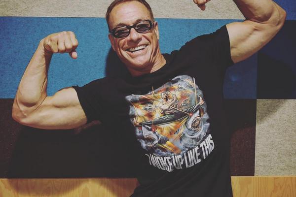 O ator Jean Claude Van Damme (Foto: Instagram)