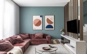 Sofá rosa: 12 inspirações para aderir ao móvel