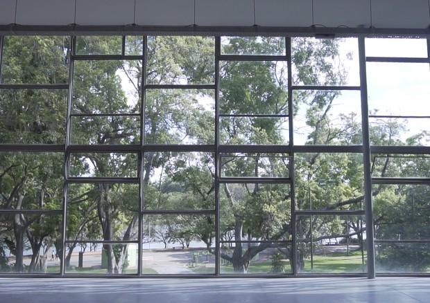Pavilhão das Culturas Brasileiras, onde acontece esta edição do SPFW (Foto: Willian Soares)