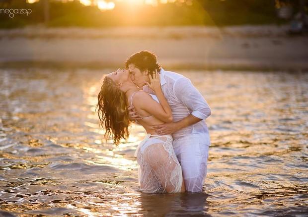 Ensaio de pré-casamento de Whindersson Nunes e Luisa Sonza (Foto: Reprodução/Instagram: @estudiomegazap)