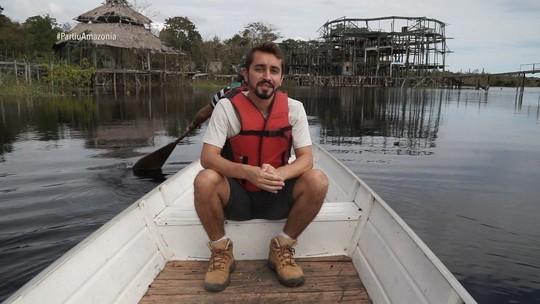 'Partiu' relembra viagem de Moacyr Massulo à Comunidade de São Thomé, no Amazonas