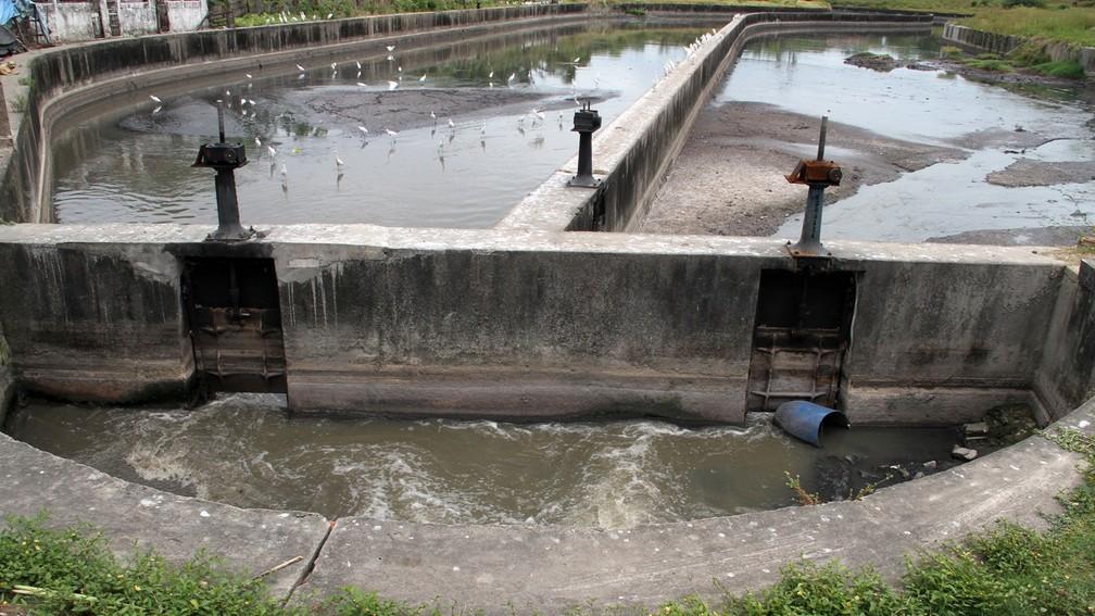 Estação de tratamento de água na Paraíba (Foto: Francisco França/Jornal da Paraíba)