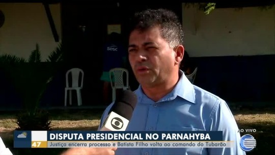 """De volta ao Parnahyba, Batista Filho não esconde frustração por período afastado: """"Sofri muito"""""""