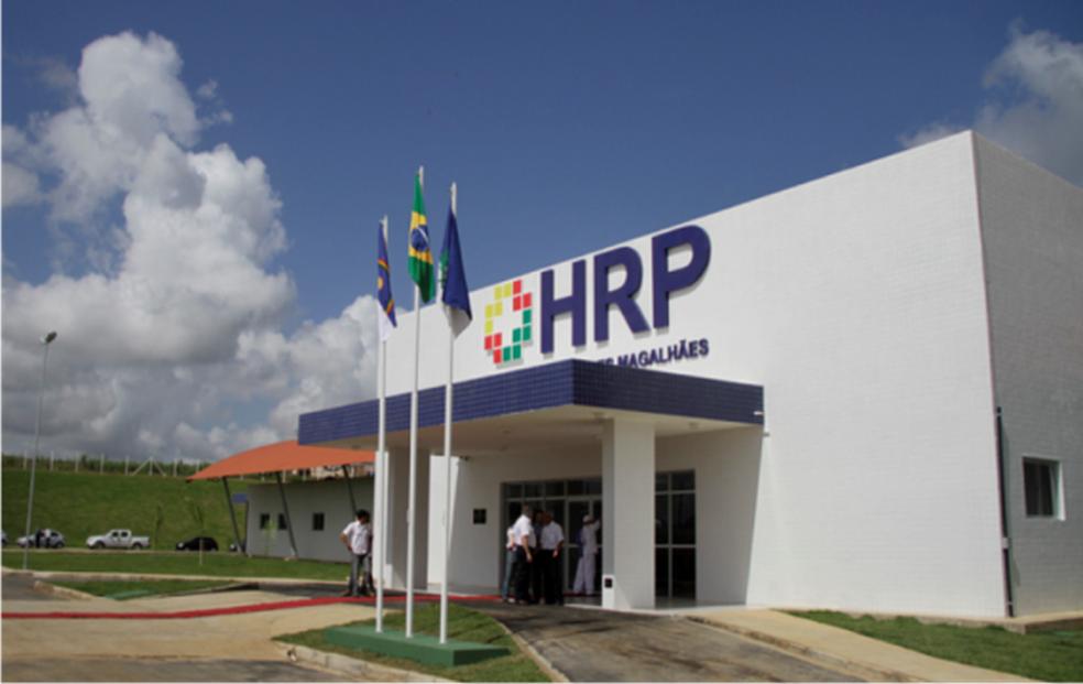 Hospital Regional de Palmares fica no Agreste de Pernambuco (Foto: HRP/Divulgação)