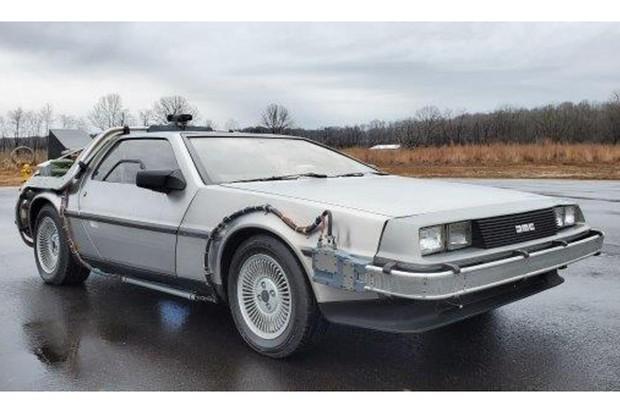 Réplica DeLorean leilão (Foto: Divulgação)