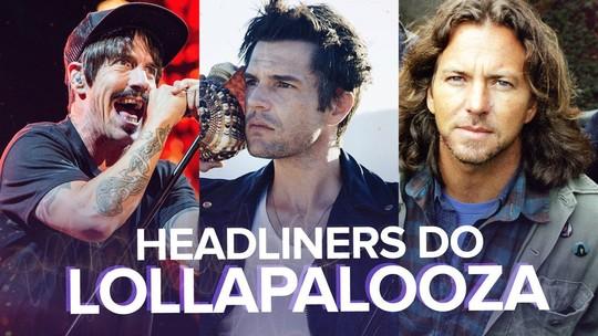 Lollapalooza anuncia programação por dia; VEJA