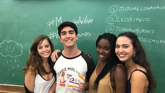 #MalhaçãoAoVivo: Joana Borges fala da repercussão de Verena: 'Recebi muitas mensagens de meninas'