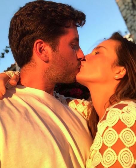 Claudia e o marido (Foto: Instagram/Reprodução)
