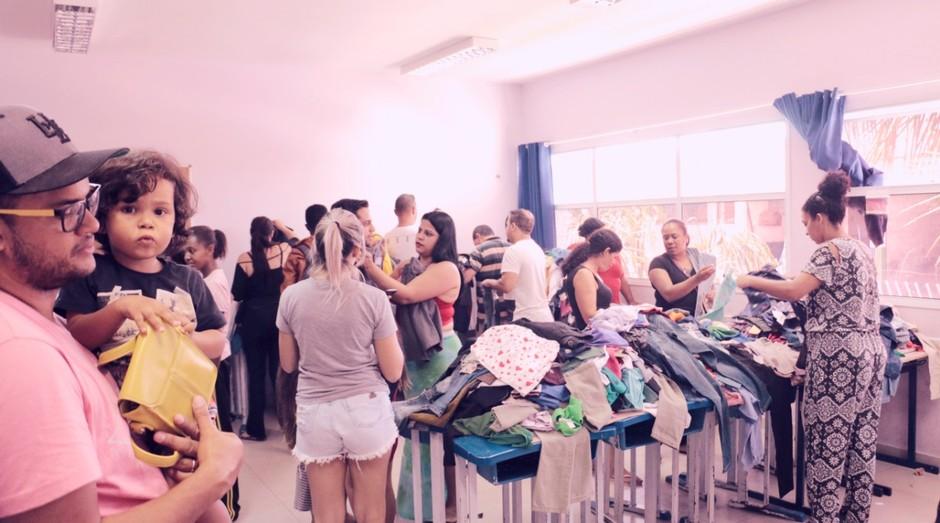 Bazar: Gerando Falcões fecha parceria com marcas de moda para bazares em favelas (Foto: Divulgação)