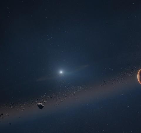 Astrônomos confirmam sistema em que planeta orbita uma estrela morta