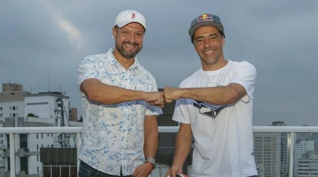 Sandro Dias e Mauro Moraes, fundadores da Dual Footwear (Foto: Divulgação)