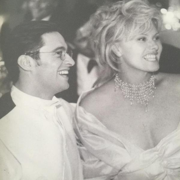 O casamento de Hugh Jackman e Deborra Lee-Furnes em 1996 (Foto: Instagram)