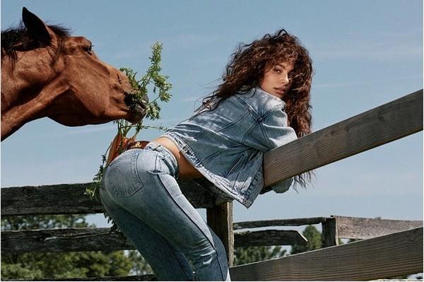 A modelo argentina Camila Morrone (Foto: Instagram)